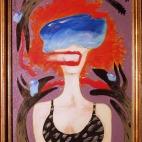 Ex wife in acrylic