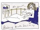 Reclining nude declining