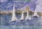 Sailboats Antibes